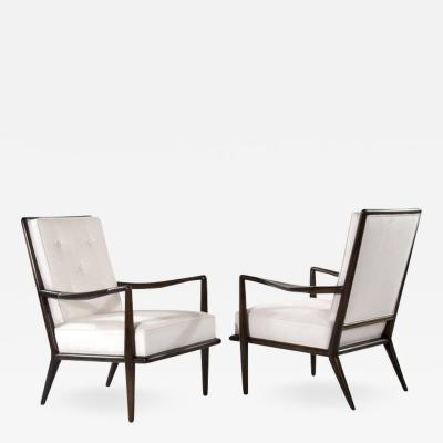 T H Robsjohn Gibbings T H Robsjohn Gibbings Wing Arm Lounge Chairs