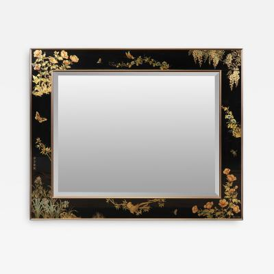 T UANDYKE PAINTED WALL MIRROR