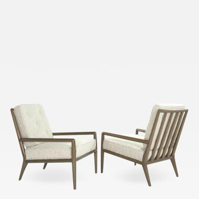 TH Robsjohn Gibbings Classic Lounge Chairs by T H Robsjohn Gibbings