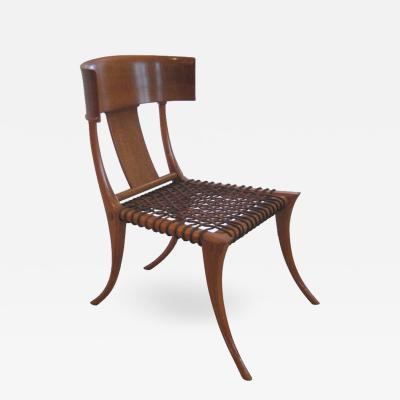 TH Robsjohn Gibbings Early Robsjohn Gibbings Klismos Chair for Saridis