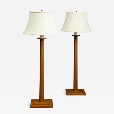 TH Robsjohn Gibbings Pair of Floor Lamps