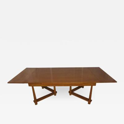 TH Robsjohn Gibbings Rare Extension Dining Table by T H Robsjohn Gibbings for Widdicomb 1950
