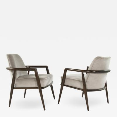 TH Robsjohn Gibbings T H Robsjohn Gibbings Lounge Chairs circa 1950s