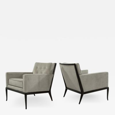 TH Robsjohn Gibbings T H Robsjohn Gibbings for Widdicomb Lounge Chairs 1950s