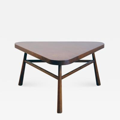 TH Robsjohn Gibbings Triangular Coffee Table by T H Robsjohn Gibbings for Widdicomb