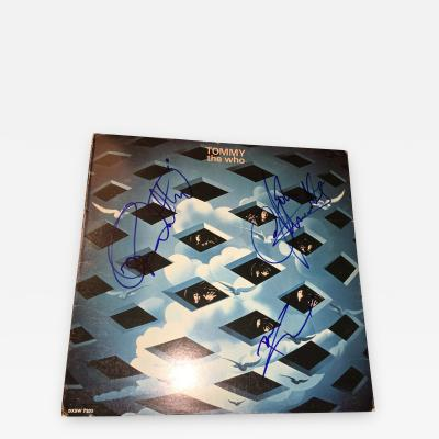 THE WHO TOMMY AUTOGRAPHED ALBUM
