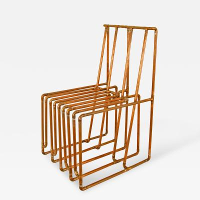 TJ Volonis Chair in Copper by TJ Volonis
