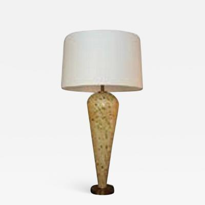 Table Lamp Mid Century Modern Murano Art Glass Italy 1950s