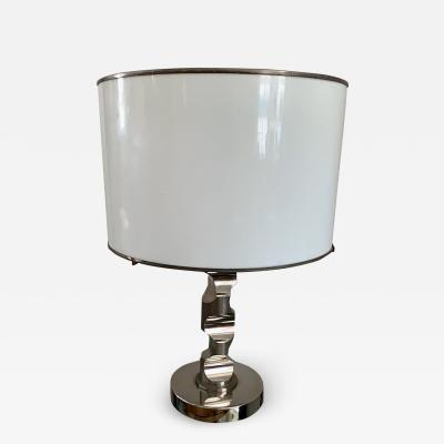 Table Lamp in Solid Medal and acrylic