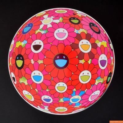 Takashi Murakami Takashi Murakami Flowerball 3D Lithograph
