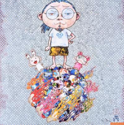Takashi Murakami Takashi Murakami KAIKAI KIKI ME Lithograph