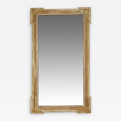 Tall Hand Carved Italian Mirror
