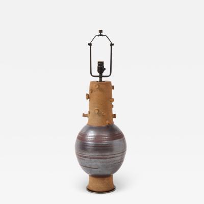 Tall Studio Pottery Lamp