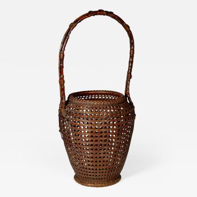 Tanabe Chikuunsai I Bamboo Basket