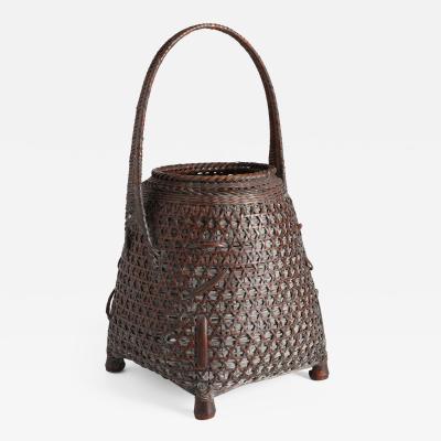 Tanabe Chikuunsai II Bamboo Basket