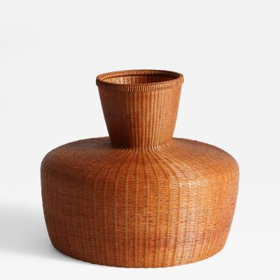 Tanabe Chikuunsai II Bamboo Ikebana Basket