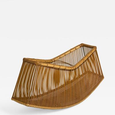 Tanabe K chikusai Bamboo Ikebana Basket