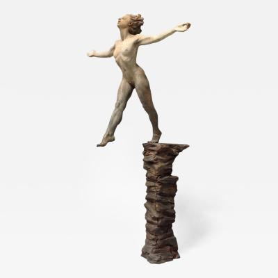 Tanya Ragir Leap of Faith Life Size Sculpture by Tanya Ragir Edition Of 3