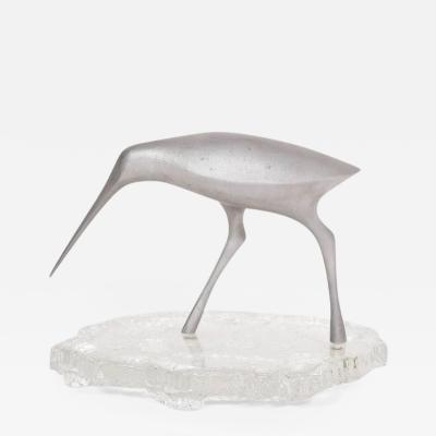 Tapio Wirkkala Bird Sculpture Snipe by Tapio Wirkkala