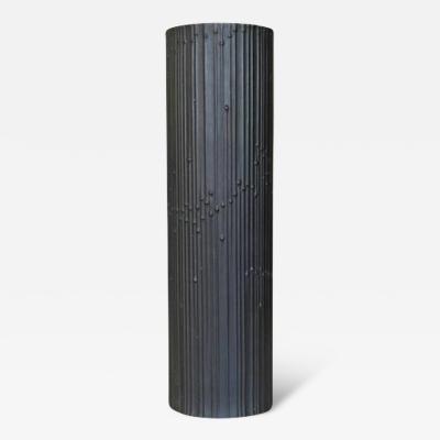 Tapio Wirkkala Black Matte Porcelain Vase by Tapio Wirkkala for Rosenthal Porcelaine Noire