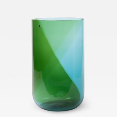 Tapio Wirkkala Huge Italian Blown Glass Vase Coreani by Tapio Wirkkala