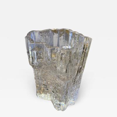 Tapio Wirkkala Tapio Wirkkala For Ittala Glass Vase