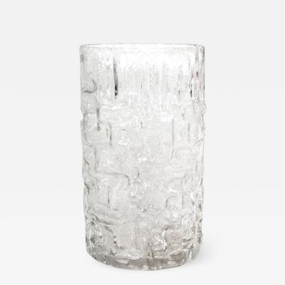 Tapio Wirkkala Tapio Wirkkala Mid Century Modern Cylindrical Murano Glass Finnish Vase 60s