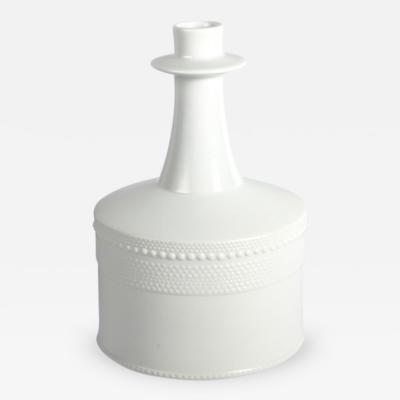 Tapio Wirkkala White Porcelain Vase by Tapio Wirkkala for Rosenthal