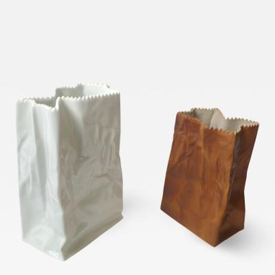 Tapio Wirkkala Wirkkala Paper Bag Vases