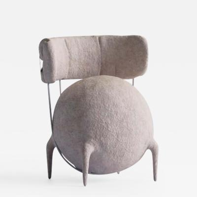 Taras Zheltyshev Lympho Contemporary Lounge Chair by Taras Zheltyshev