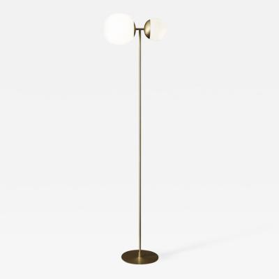 Tato Italia Biba Terra Floor Lamp in Satin Brass
