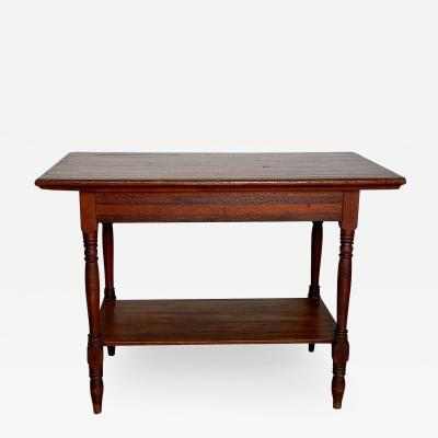 Tavern Table America Circa 1900