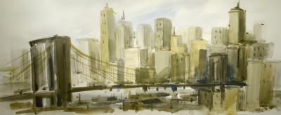 Ted L Theodore Davis Davis Brooklyn Bridge