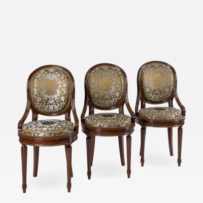 Ten Louis XVI Chairs