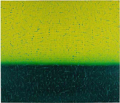 Teo Gonz lez Arch Horizon painting 5