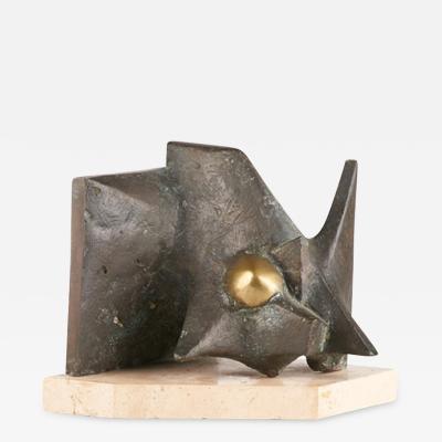 Teresa Eguibar Abstract Bronze Sculpture by Teresa Eguibar