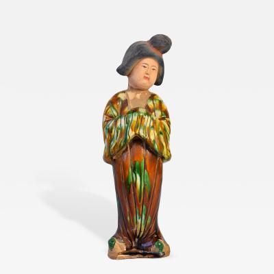 Terracotta Tang Court Lady San Cai Glaze