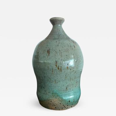 Teruo Hara A Japanese Contemporary Ceramic Bottle Teruo Hara
