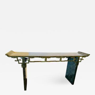 Tessellated Enrique Garcel Console Alter Table Mid Century Modern