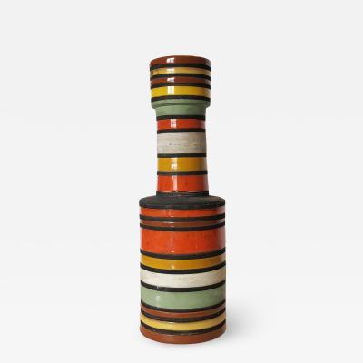 Thailandia Vase by Aldo Londi for Bitossi Italy 1950s