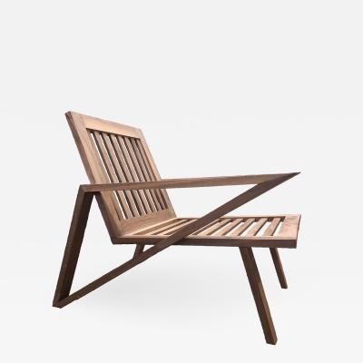 The Antonio Walnut Lounge Chair