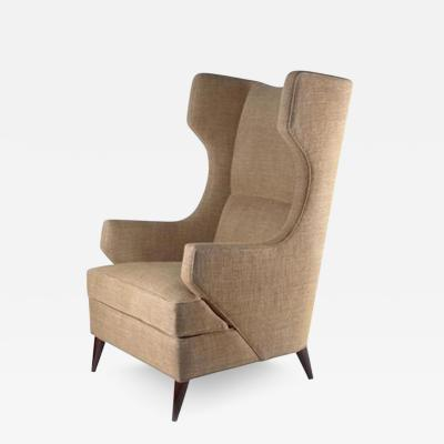 The Benjamin Wing Back Club Chair