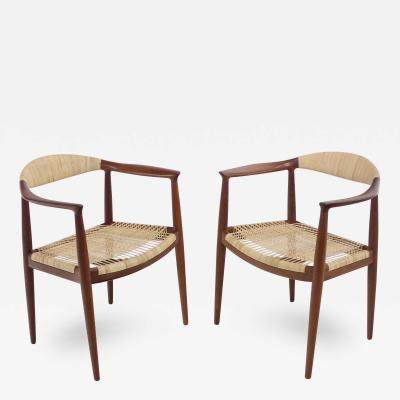 The Chair Times Two Designed by Hans Wegner