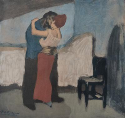 The Embrace after Pablo Picasso