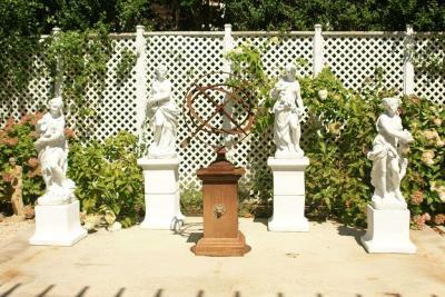 The Four Seasons on Plinths