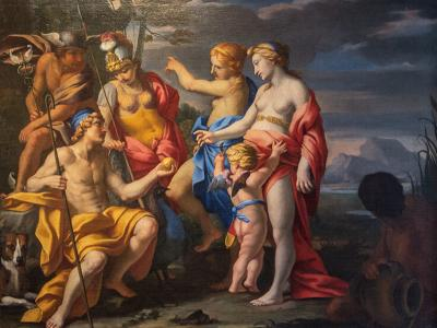 The Judgement of Paris by Deifebo Burbarini