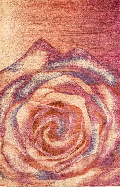 The Name of the Rose 2 Zollanvari Studio Super Fine Gabbeh