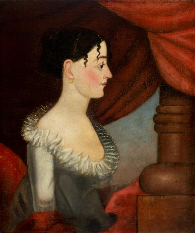 Elegant Folk Art Portraits