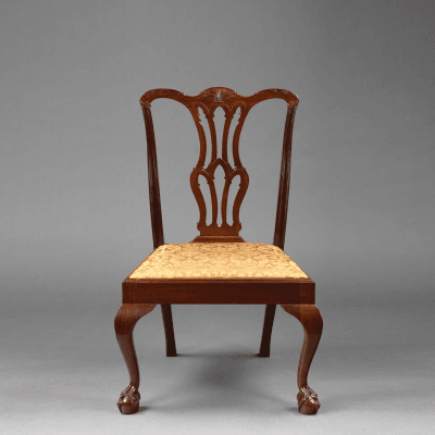 The Swan Family Chippendale Side Chair