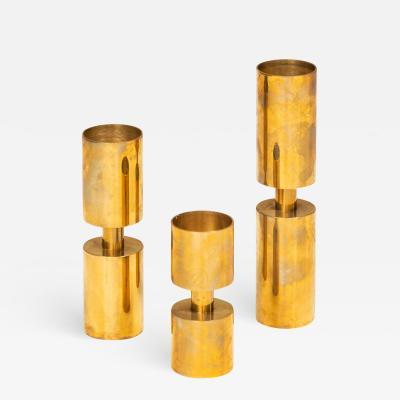 Thelma Zo ga Candlesticks Produced in Sweden